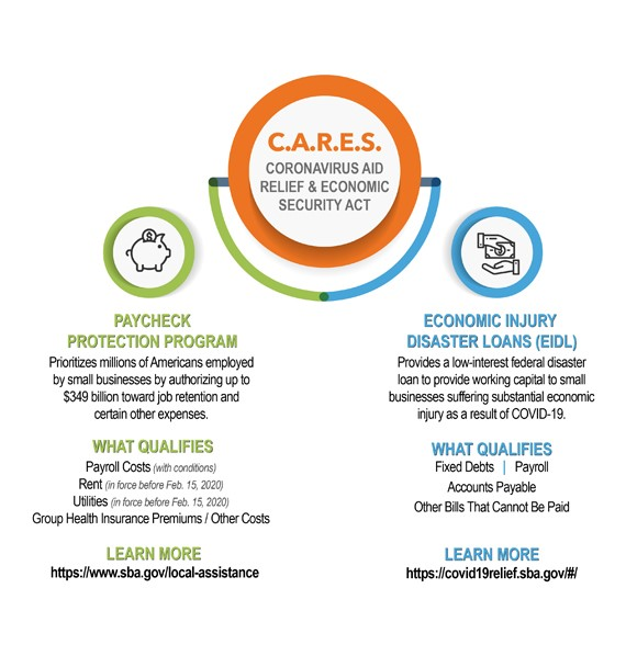 CARES Infographic