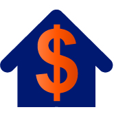 House with a dollar sign icon